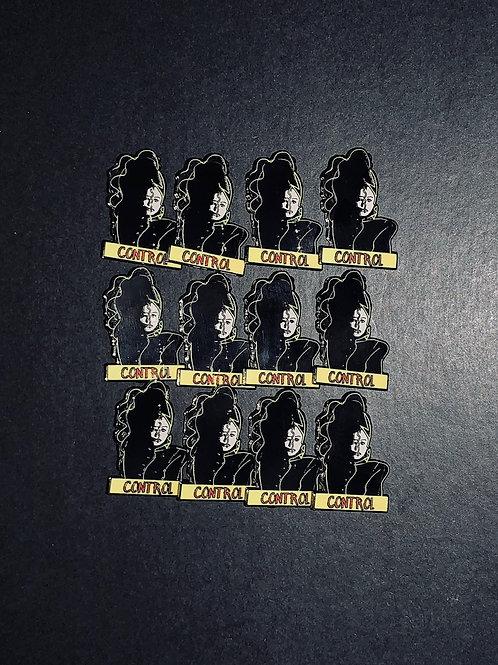 Janet Jackson Control Enamel Pin