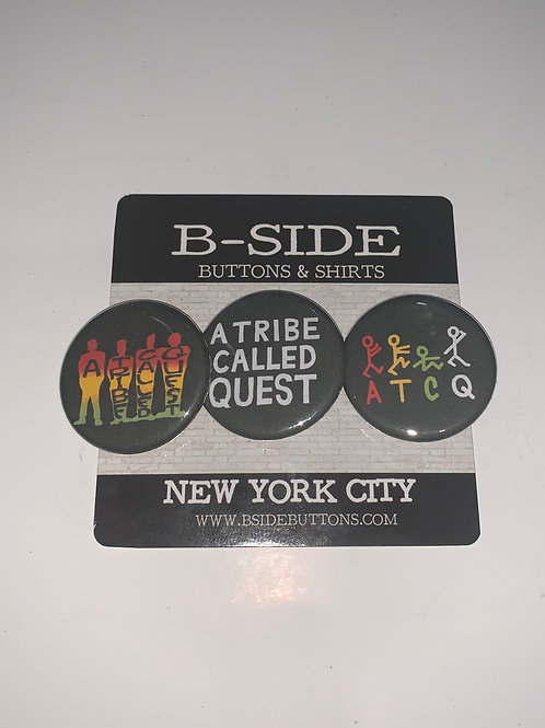 A Tribe Called Quest Button Pack - Size: 1.25""