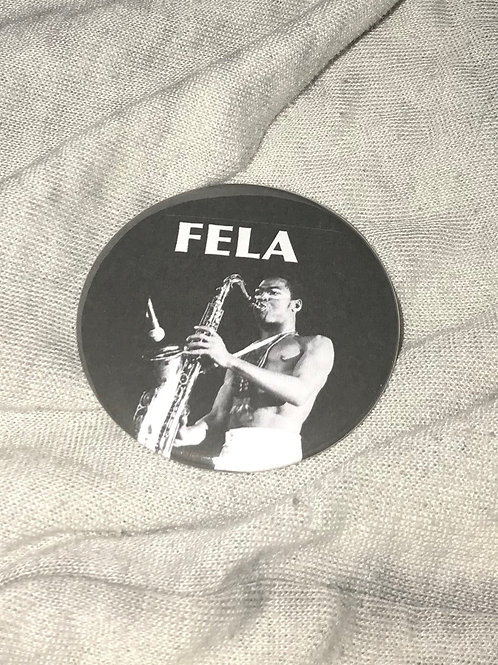 "Fela Kuti 2.25"" Big Button"