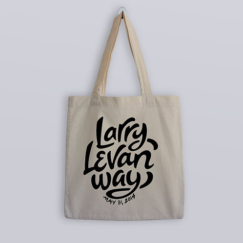 Larry Levan Way Tote Bag