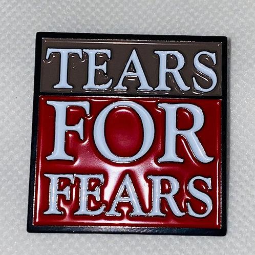 Tears for Fears Enamel Pin