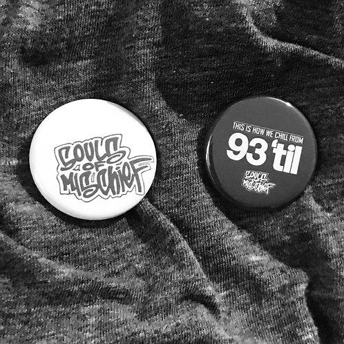 """Souls Of Mischief 1.25"""" Magnets"""