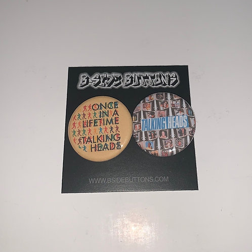 """Talking Heads Button Pack - Size: 1.25"""""""