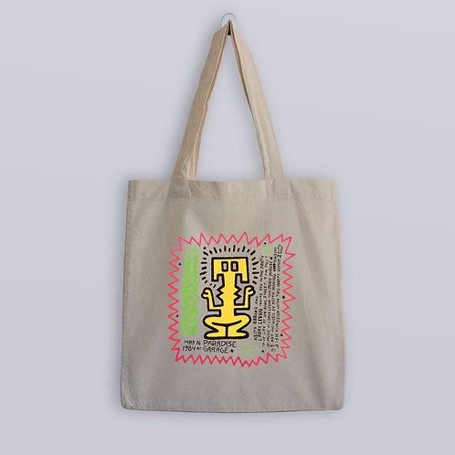 Keith Haring Design Paradise Garage Tote Bag
