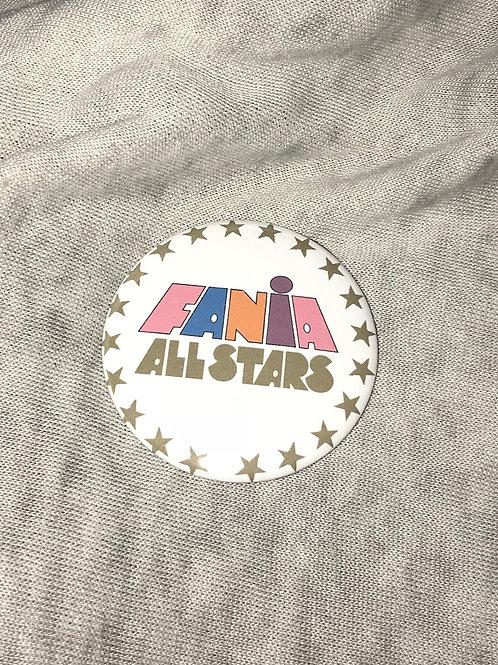 """Fania All Stars 2.25"""" Big Button"""