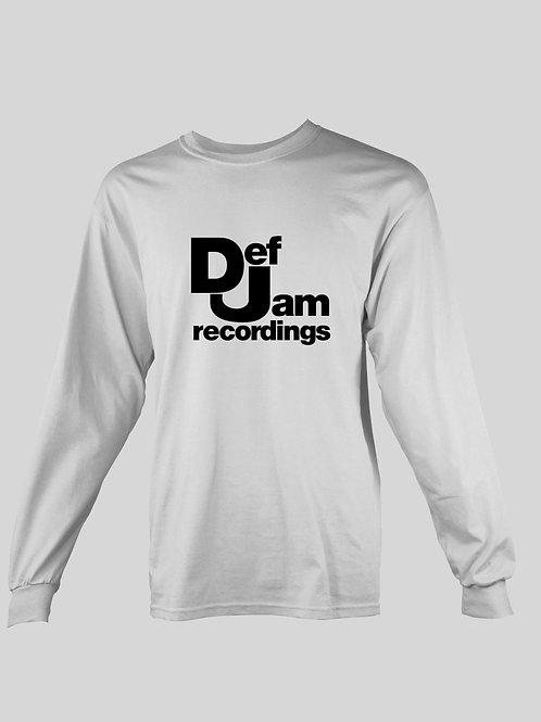 Def Jam Recordings long Sleeve T-Shirt