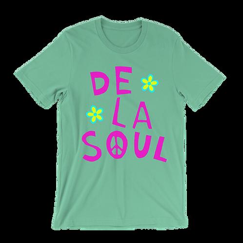 De La Soul Flower (Pink letters) t-shirt