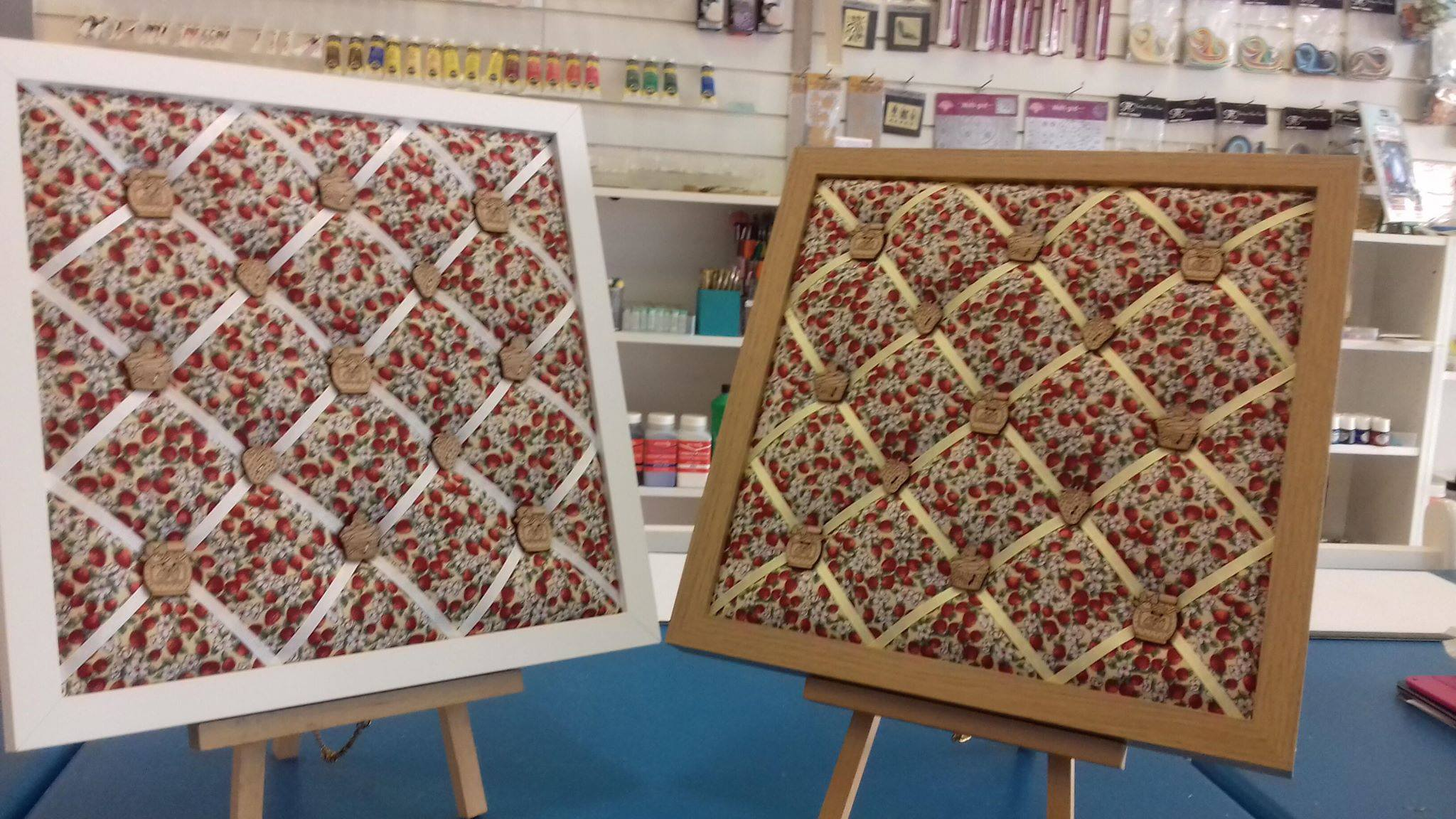 Fabric Notice Boards