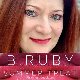 LipSense Colours B.Ruby Summer Treat