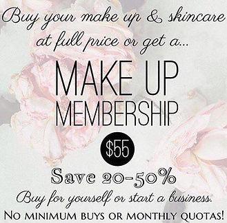 Makeup Membership Information