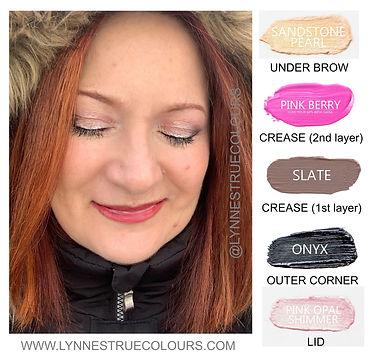 SeneGence ShadowSense Eye Makeup Look