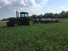 planting into green cover crop