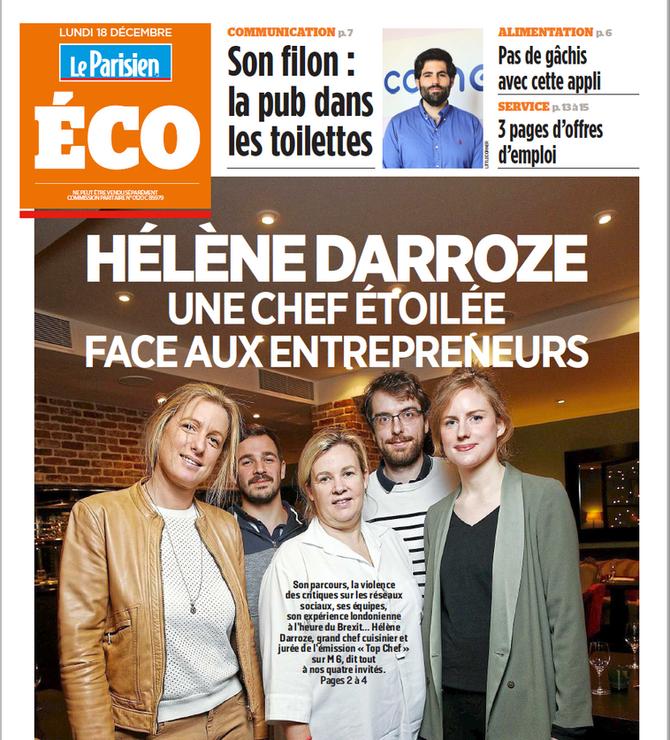 Les Foodelles face à Hélène Darroze