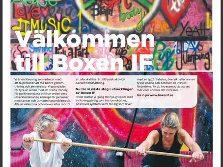 Välkommen till BOXEN IF - Läs vår egen tidning