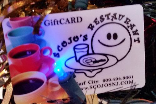 $25 Scojo's Gift Card