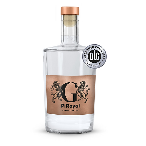Die GASTROCHECKER PiRoyal - Saxon Dry Gin 0,35l