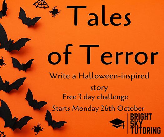Tales of Terror Write a Halloween-inspir