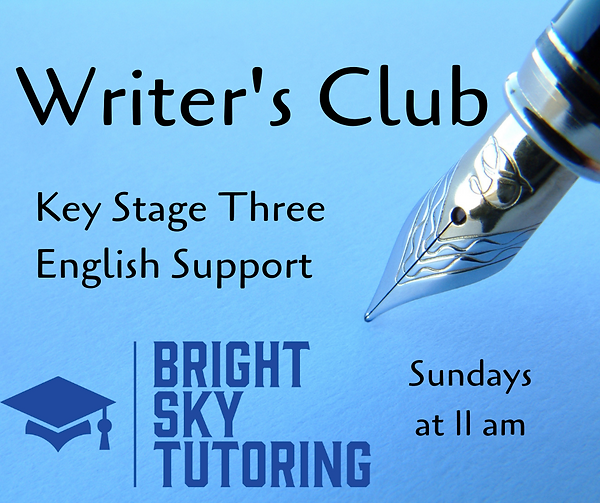 Writer's Club Key Stage Three English Su