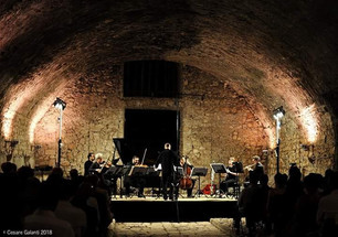 Concert with Ensemble Prometeo at Festival Pontino