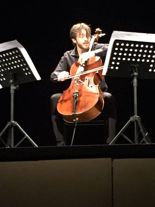 Live Set - Solo Cello Project, Ivan Fedele italian premiere!