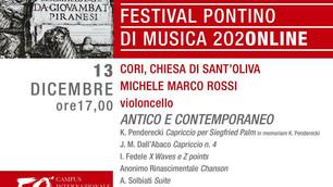 Cello Solo: Live Streaming at Festival Pontino