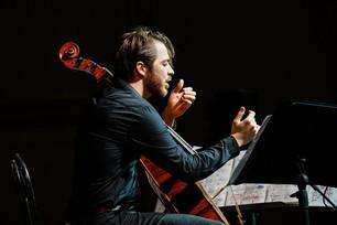 Cello Solo at Accademia Filarmonica Romana