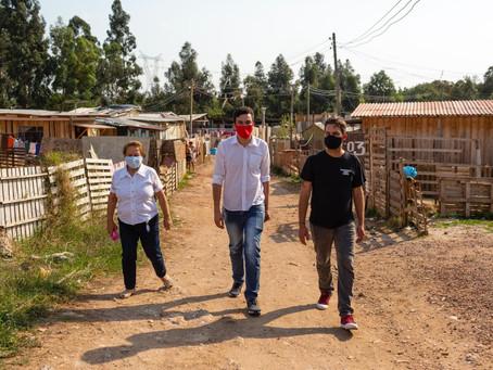 Luan Azevedo apresenta Goura ao Tatuquara e ambos assumem compromisso com a população da periferia
