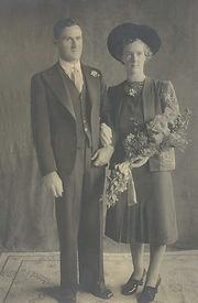 Betty and Herb Pritchett 1942 wedding.JP