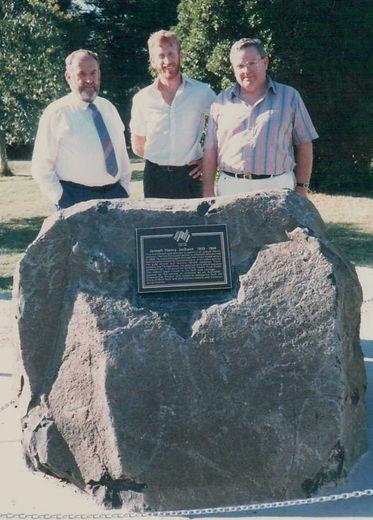 Jindivick Jackson memorial Wally, his so