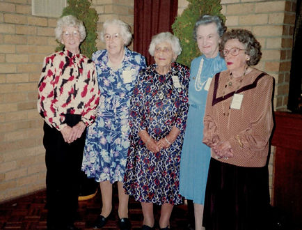 Foundation members 50th birthday 1989 Et