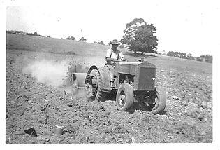 Cheesman Roy tractor and hoe.jpg