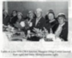 Pre 1958 CWA function Meg Cottier second