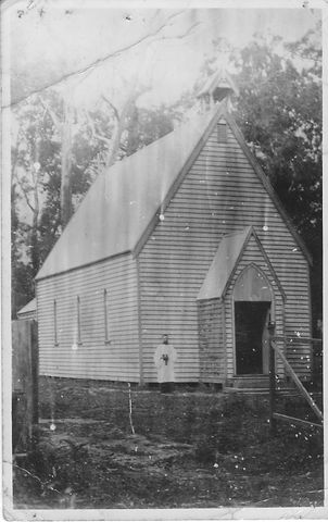 C0094 1st Church Grant St 1885  with Mr