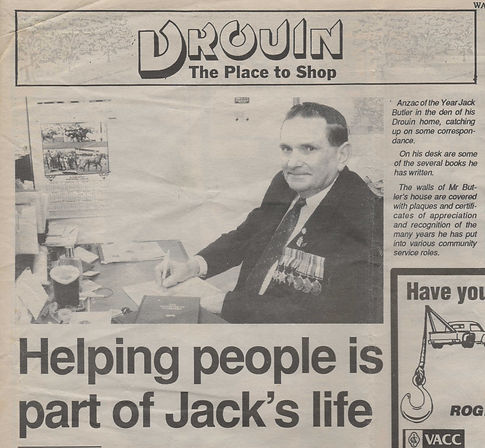 Jack butler The Gazette May 2nd 1995.JPE