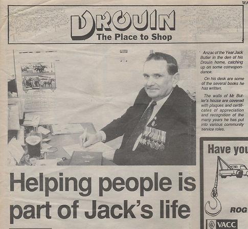 Jack butler The Gazette May 2nd 1995.JPE