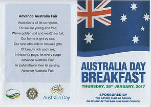 Australia Day breakfast Drouin 2017 (3).