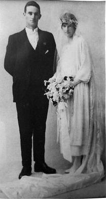 William & Dorothy Bloye wedding day 24.7