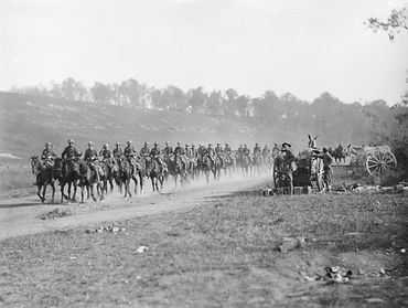 13th_Light_Horse_Regiment_in_France_1918