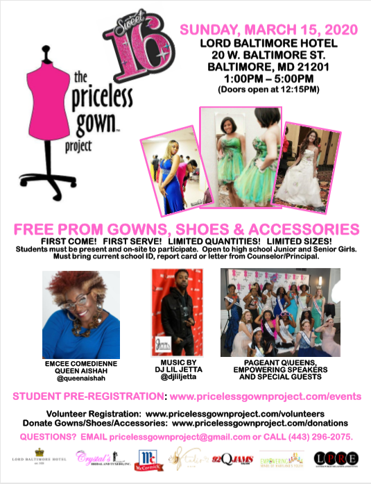 Flyer_Priceless Gown Project__03.15.2020