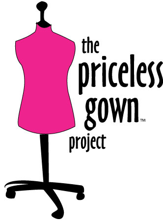 Image result for logo priceless gown project