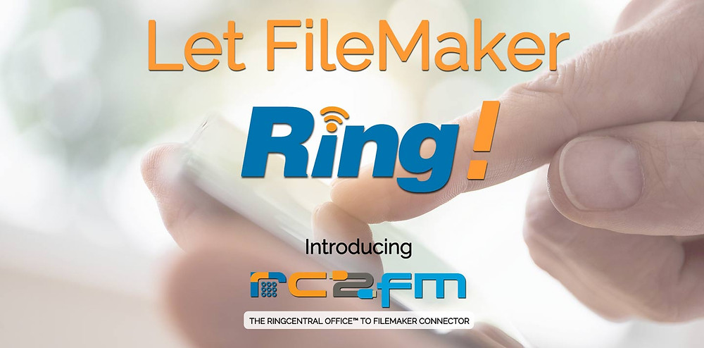 Automation USA announces RC2FM Connector, the RingCentral to FileMaker connector service that enables Cloud Telephony Integration (CTI) for all FileMaker custom apps and is 100% FileMaker Cloud compatible. More info at http://www.rc2fm.com