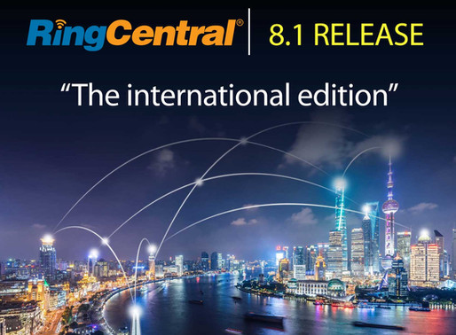 RingCentral 8.1 is here!