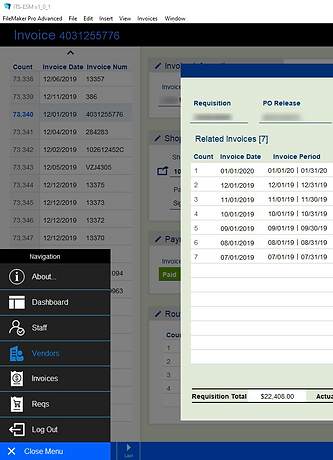A modern, robust and secure purchasing workflow application.