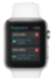 RingCentral iOS app on Apple Watch®