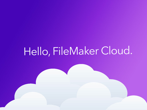 FileMaker Cloud is finally here!
