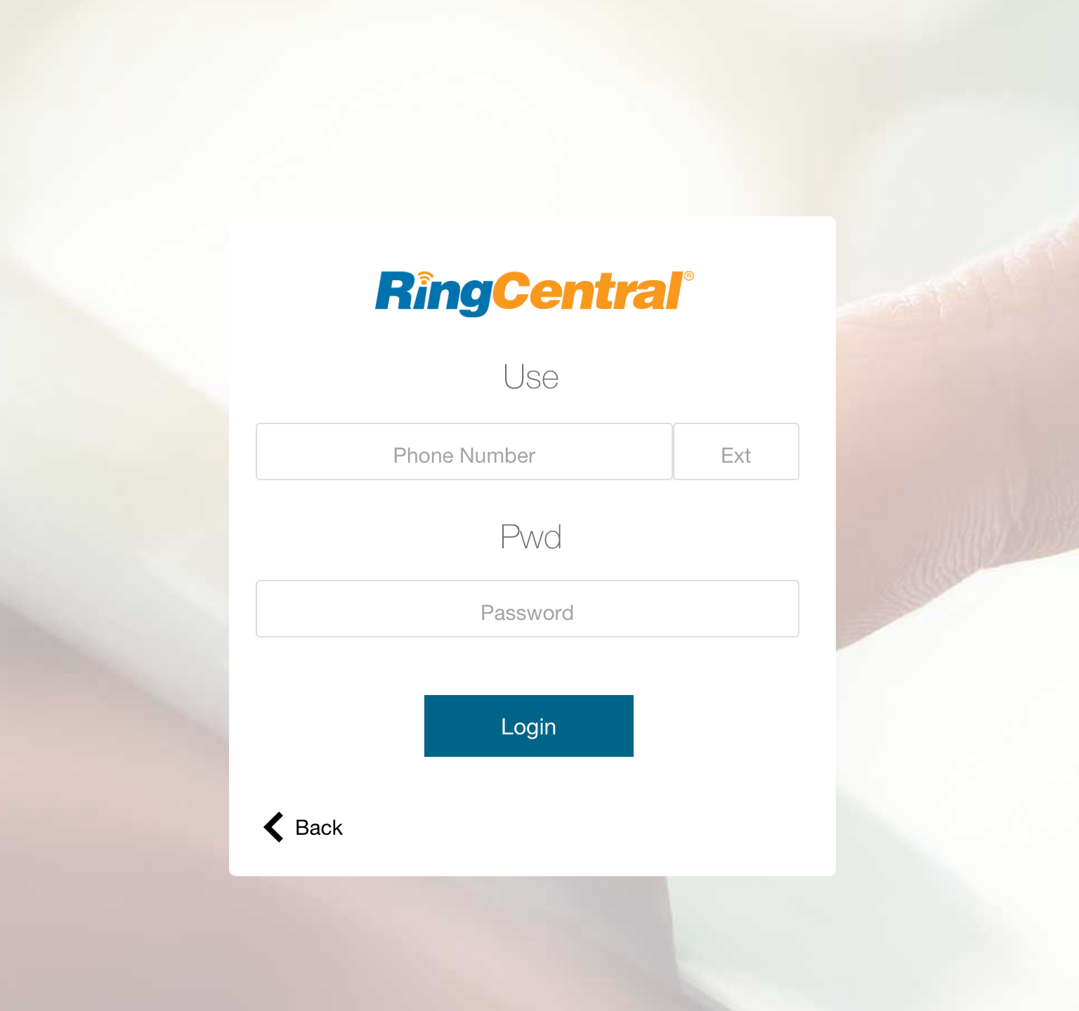 Here's a sample login UI from our RC2FM demo file.