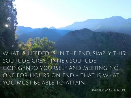Seeking Solitude in the Wilderness