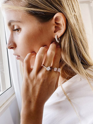 Stones Earring