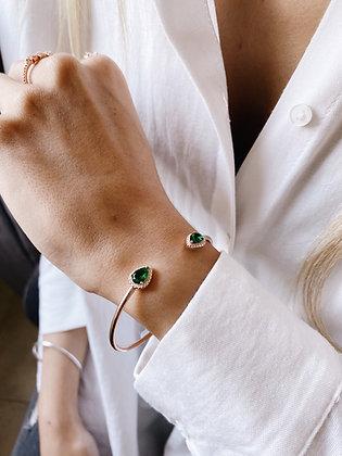 Green Drop Bracelet