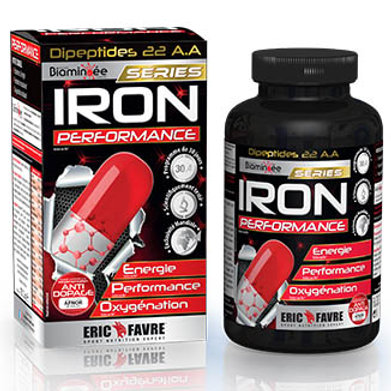 Eric Favre - Iron Performance 120 Gélules